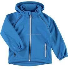 Custom New fashion windproof softshell winter jacket, wholesale inner fleece softshell jacket