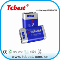 High quality lr6 aa 2500mAh alkaline battery CE ROHS approved