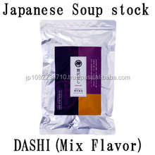 Traditional japan tast Zeitaku Dashi(Mix flavor) with it increases the taste of cuisine made in Japan