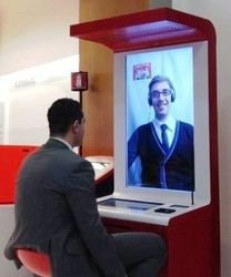 New! Video Assisted Vending Machine to Create Virtual Stores- Designed and Made in Italy - 1 Year of HD Video Chat Service
