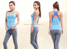 Ladies high quality cheap custom oem gym singlets