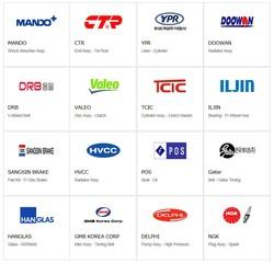 Korean Auto Spare Parts.
