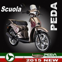 (Scuola) 2015 NEW motorcycle gas scooter for sale EEC COC 50cc 125cc 150cc Italian design high quality (PEDA MOTOR)