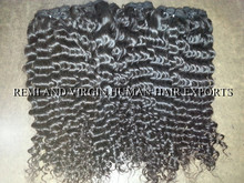 Indian Remy Tangle free Silky soft Deep Wavy Human Hair Extension