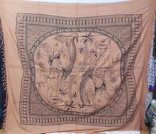 Indian Animal Mandala Queen Cotton Handmade Wall Hanging Throw Ethnic Hippy Bohemian Tapestry, Bedspread, Bed sheet Decor Art