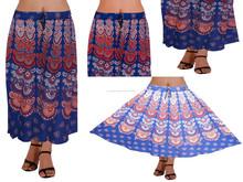Jaipuri falda larga para mujeres