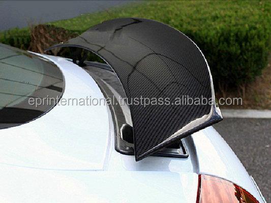 for audi tt mk2 type 8j carbon fiber oe style rear spoiler. Black Bedroom Furniture Sets. Home Design Ideas