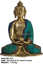 Bronze Copper Buddha in Dhyana Mudra