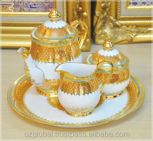 Gold Plated Coffee Set Coffee Set With Gold