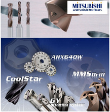 Mitsubishi drill tools always appear before your eyes as showing high performance beyond your expectations