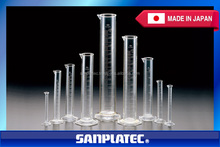 Excellent visibility TPX graduated cylinder, chemistry laboratory equipment