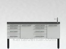 Dental metal furniture clinic equipment