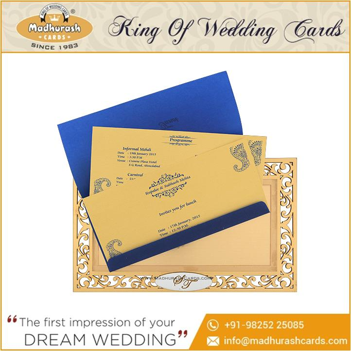 latest wedding cards wedding invitation card 2015 at wholesale price