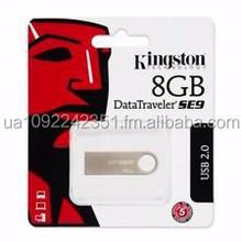 Original Kingston DataTrave SE9 8GB USB 2.0 Flash Drive (DTSE9)