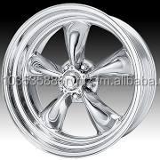 18x8 American Racing Torq Thrust II VNC405 Chrome Wheels VNC405880XX - REV