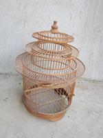 Natural bamboo bird cage manufacturer/home decor bird cage