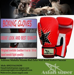 Leather professional boxing gloves/MMA Classic Boxing Training Gloves/ Brand Leather Boxing Gloves