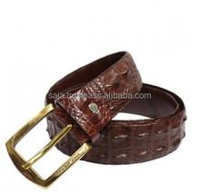 Crocodile leather belt for men SMCRB-007