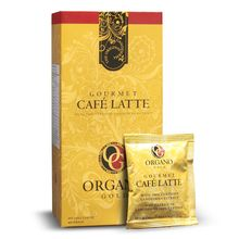 Organo Gold Gourmet Cafe Latte Instant Coffee with Ganoderma Lucidum, Lingzhi Reishi Slim Detox Immune Cholesterol High Blood