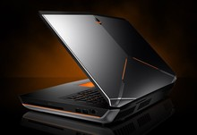 Original sales for new Dell Alienware 18 R1 Gaming laptop - Intel Core i7 2.50GHz - 8GB RAM - 1TBHDD + 80GB SSD - Dual GeForce G