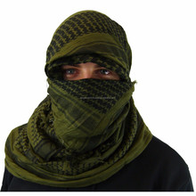 100% Cotton Military Desert Shemagh/Scarf , Military Shemagh Scarf / Desert Scarf KLI-1001