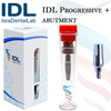 IDL Dental Implants with abutment (spiral)