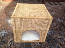 Bamboo pet cage, small house for animal, fashionable style lovely home, cheap price, wholesale