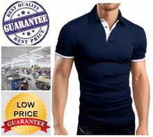 slim fit polo shirt /16 compliance factories / best quality products with best price