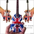 miniatura guitarras en madera