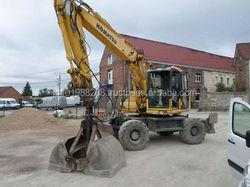 USED MACHINERIES - PW130-7 MOBILE EXCAVATOR (8419)