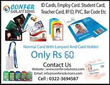 Employee ID Card, Student ID Card, ID Card, Member Ship Card, Bar Code, All types of Plastic Card Etc