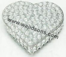 Heart Shaped Crystal jewelry boxes for Wedding Favors