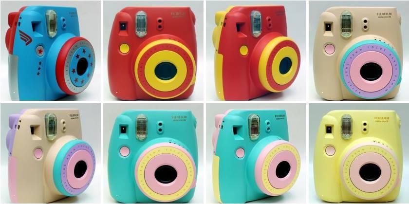 Fujifilm Instax Mini 8 Instant Polaroid Camera Customized