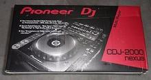 2 x Pioneer CDJ 2000 nexus platinum edition + 1X DJM 900 NEXUS