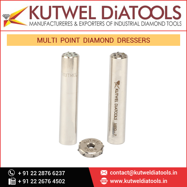 Multi Point Diamond Dressers For Large Wide Grinding