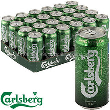 CARLSBERG BEER - 0,33cl 0,5 l BOTTLE and Can