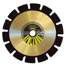 Diamond discs for cutting asphalt/concrete