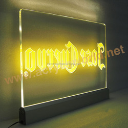 LED sign holder led sign frame led light frame led light picture frame