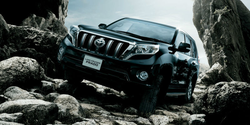 New TOYOTA LAND CRUISER PRADO cars and New car spare parts in Japan