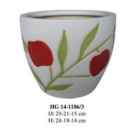 cheap ceramic pots HG 14-1186/3