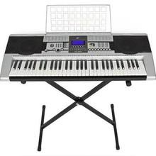 Sky SKY1036 Electronic Piano Keyboard 61 Key Music Key Board Piano with x Stand