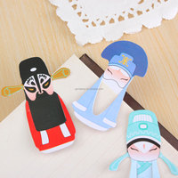 New A Set Classic Chinese Style Peking Opera style Element Beijing Opera Characters Bookmarks For Creative Gift