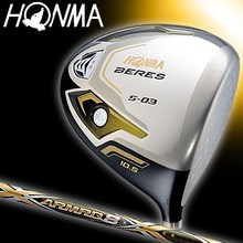 HONMA Fairway wood BERES S-03 ARMRQ8 54 shaft 3 star golf mate clubs
