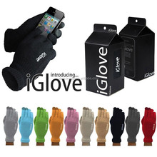 2015 iGlove Touch Screen Warm Gloves for iPhone Smartphone Capacitive With box Package Winter knitted Touch
