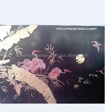 Lacquer picture of high quality, vietnamese lacquerware for wall decoration, handmade painting