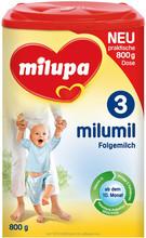 Milupa Milumil 3 800 g bebê fortificado leite em pó