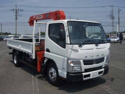 2015 Mitsubishi Canter 4 Stages Crane Truck YK22978/TKG-FBA50/4P10 3000cc