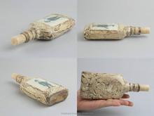 Botella decorativa hechos a mano