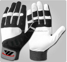 Best Performance Baseball Batting Gloves / Custom Professional Players Leather Batting Gloves / Batting Gloves For Players
