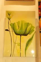 hand painting lotus flower handmade in Vietnam
